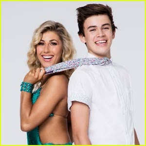 Hayes Grier & Emma Slater Dance the Quickstep on 'DWTS' - Watch Now!