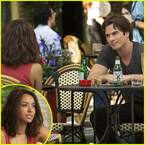 Ian Somerhalder & Kat Graham Talk Bamon's Relationship This Season on 'The Vampire Diaries' (JJJ Interview)