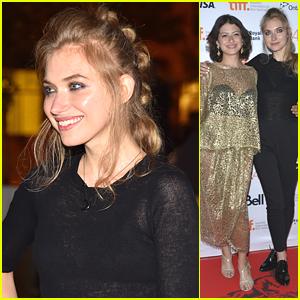 Imogen Poots Joins Alia Shawkat & Anton Yelchin At 'Green Room' Premiere During TIFF
