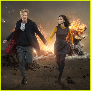 See The First Pics Of Jenna Coleman & Peter Capaldi From New Season Of 'Doctor Who'!