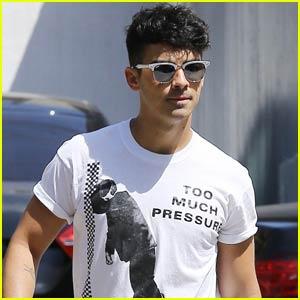 Joe Jonas Hits the Gym After DJing MTV VMAs 2015 After-Party