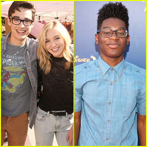 Joey Bragg & Audrey Whitby Couple Up For 'Aladdin' Special Screening