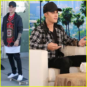 Justin Bieber Talks About Being Single & Ready to Mingle on 'Ellen' - Watch Now!