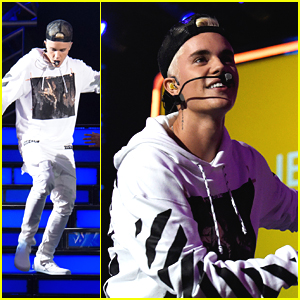 Justin Bieber Performs 'What Do You Mean?' At Think It Up Telecast