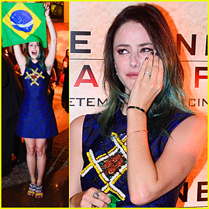 Kaya Scodelario Gets Emotional At 'Scorch Trials' Premiere in Sao Paolo