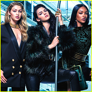 Kendall Jenner & Gigi Hadid Model Balmain For H&M In New Campaign - See The Pics!