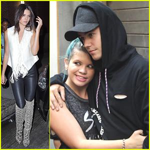 d5013a5be5 Kendall Jenner, Justin Bieber & Gigi Hadid Celebrate Travis Scott's New  Album In NYC