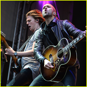 Lawson Switch On The Lights At Blackpool Illuminations