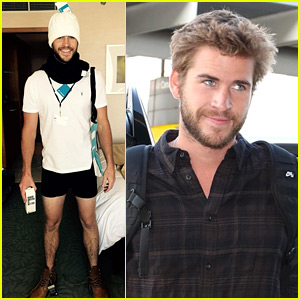 Liam Hemsworth Forgot to Put on Pants for This Picture!