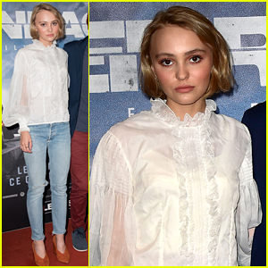 Lily-Rose Depp Goes Casual Chic on Red Carpet