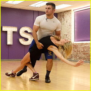 Lindsay Arnold & Alek Skarlatos Will Take On The Foxtrot For 'DWTS' Premiere Night