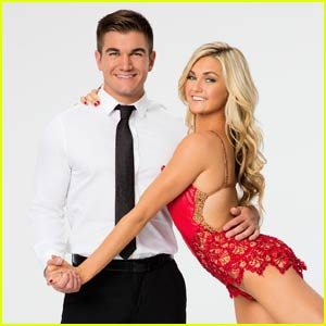 Alek Skarlatos & Lindsay Arnold Quickstep On 'DWTS' - Watch Now!