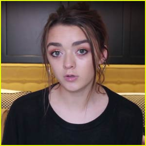 Maisie Williams Launches YouTube Channel, Reveals She Has a Boyfriend! (Video)