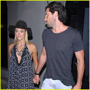 Peta Murgatroyd Has Dinner Date With Maksim Chmerkovskiy After Announcing DWTS Injury