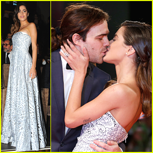 Martina Stoessel Kisses Boyfriend Peter Lanzani At Venice Film Festival 2015
