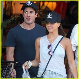 Michael Trevino & Alexandra Chando Go Grocery Shopping Together