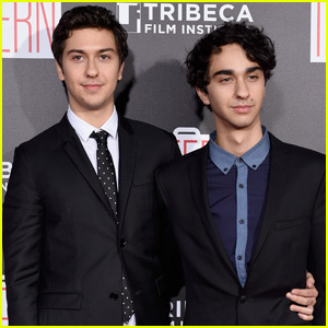 Nat Wolff Gets Support From Brother Alex at 'The Intern' Premiere in NYC