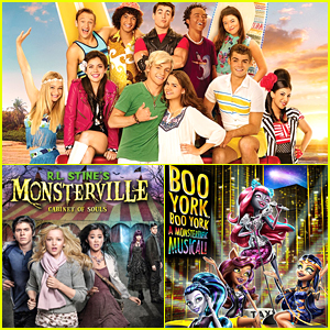 'Teen Beach 2', 'Monster High: Boo York' & 'Monsterville' Coming To Netflix September 2015 - See The Full List!