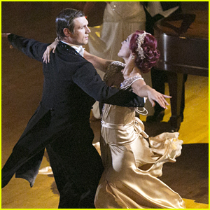 Nick Carter & Sharna Burgess Continue To Stun On The Dance Floor with 'Downton Abbey' Viennese Waltz