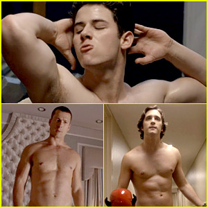 Nick Jonas Had a Shirtless Workout Scene on 'Scream Queens'!