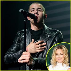 Nick Jonas Spends Time With Kate Hudson!