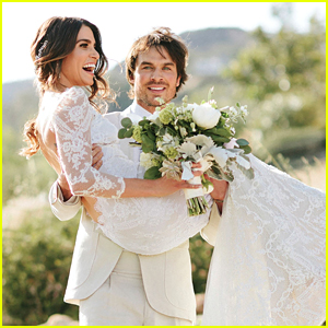 Nikki Reed Shares More Details & Pictures From Her Wedding To Ian Somerhalder