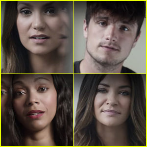 Nina Dobrev & Josh Hutcherson Take Part in 'It's On Us' PSA (Video)