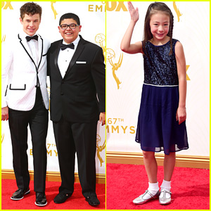 Nolan Gould Hits Emmy Emmy Awards 2015 In A 'Flashy' Suit With Rico Rodriguez