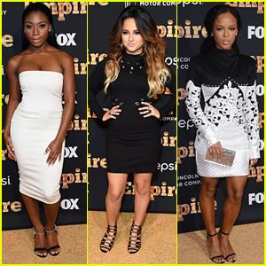 Fifth Harmony's Normani Hamilton Joins Becky G & Serayah at 'Empire' Premiere Party
