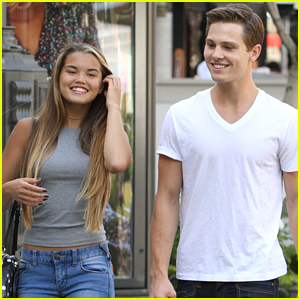 Paris Berelc Hangs With 'Invisible Sister' Costar Austin Fryberger