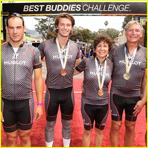 Patrick Schwarzenegger Bikes The California Coast For Best Buddies