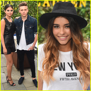Selena Gomez & Brooklyn Beckham Hit Up The Polo Ralph Lauren Fashion Show Together