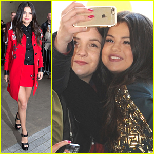 Selena Gomez Goes From London To Paris For 'Revival' Promo