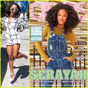 Serayah Opens Up About Meeting Taylor Swift For The First Time With 'ASOS' Mag