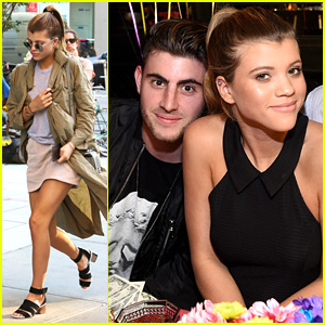 Sofia Richie Celebrates Material Girl's 5th Anniversary With Boyfriend Jake Andrews