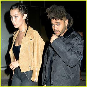 Bella Hadid Goes on Date Night with Boyfriend The Weeknd!