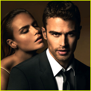 Theo James' Hugo Boss Campaig