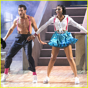 Val Chmerkovskiy Goes Shirtless In A Fun Charleston with Tamar Braxton