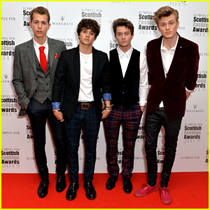The Vamps' Connor Ball Wins Fashion Icon At Scottish Fashion Awards 2015