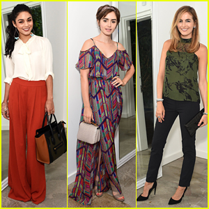 Vanessa Hudgens, Lily Collins & Camilla Belle Help Celebrate The A List's 15th Anniversary!