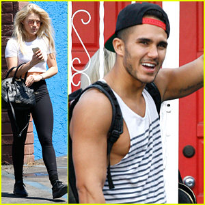 Carlos PenaVega Twerks For Witney Carson At DWTS Practice Before Throwing Alexa A Surprise Party
