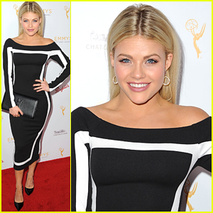 Witney Carson Brings Boyfriend Carson McAllister To Choreography Emmy Reception