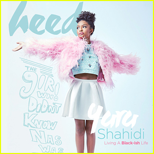 Yara Shahidi Becomes A 'Science Sleuth' After Covering 'Heed' Mag