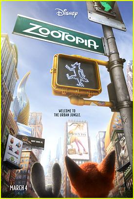 Disney Debuts New 'Zooptopia' Poster - See It Here!