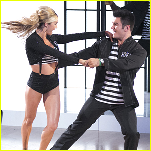 Alek Skarlatos & Lindsay Arnold Break Out Of Jail For Their Jive on 'DWTS'