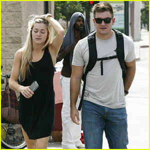 Alek Skarlatos & Lindsay Arnold Catch Up Over Lunch After DWTS' Switch-Up Week