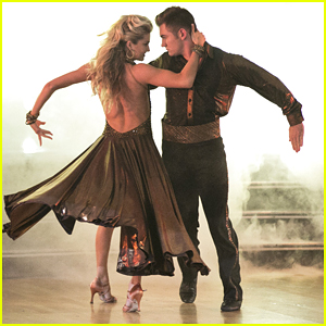 See All The Pics Of Alek Skarlatos & Lindsay Arnold Powerful Paso Doble On 'DWTS'