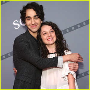 Alex Wolff & Stefania Owen Promote 'Coming Through the Rye' at Savannah Film Festival