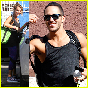 Alexa & Carlos PenaVega To Dance On Same Team For DWTS Halloween Week
