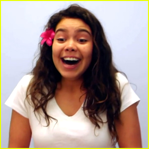 Meet The Voice of Disney's Newest Princess Moana - Auli'i Cravalho!